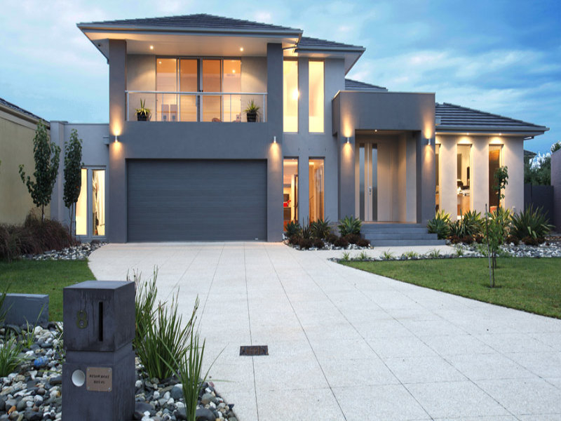 Featured Image of Luxury Contemporary House Exterior