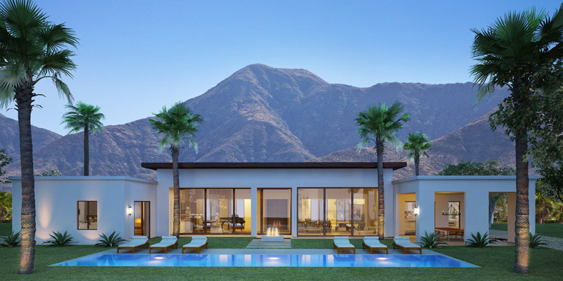 Featured Image of Luxury Palm Tree For Home Exterior Design