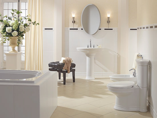 Featured Image of Minimalist Bathroom Decorating Ideas With Elegant