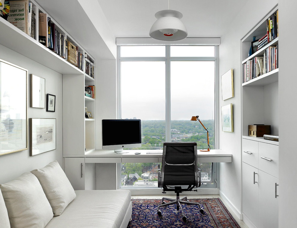 Featured Image of Modern Home Office For Apartment Interior