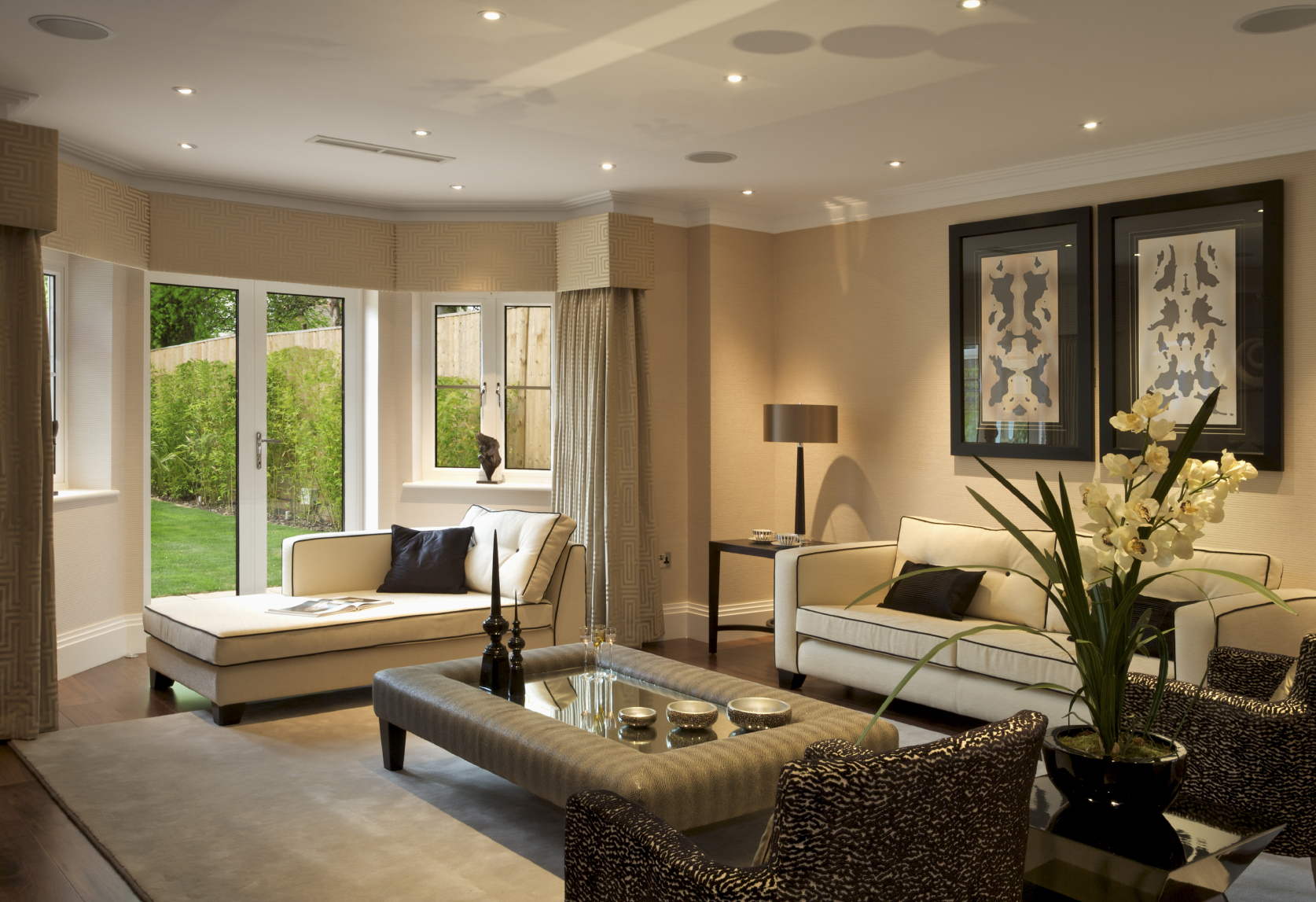 Natural Living Room Design Natural Living Room Design With Contemporary Sofa Gallery Photo