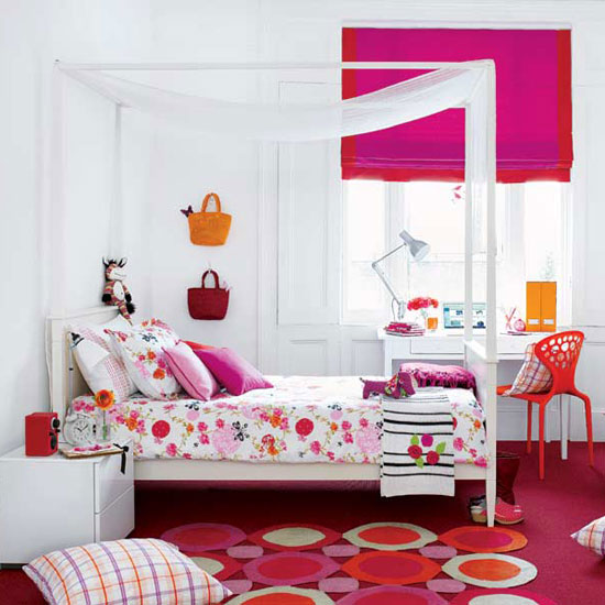 Featured Image Of Pink Girls Bedroom Decoration