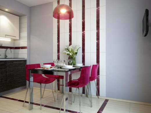 Featured Image of Purple Small Dining Room Design Ideas