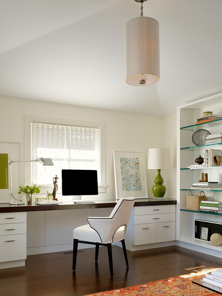 Featured Image of Simple Elegant Home Office Modern Furniture Ideas