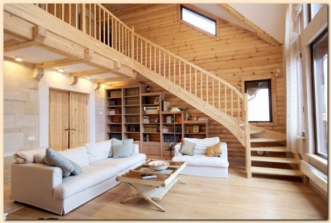 Featured Image of Wooden House Interior Decoration Ideas
