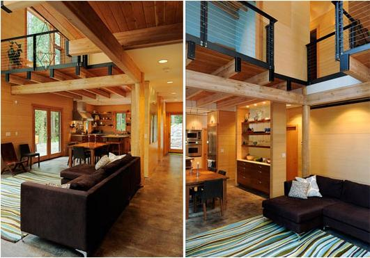 Wooden House Interior Design Ideas 7448 House