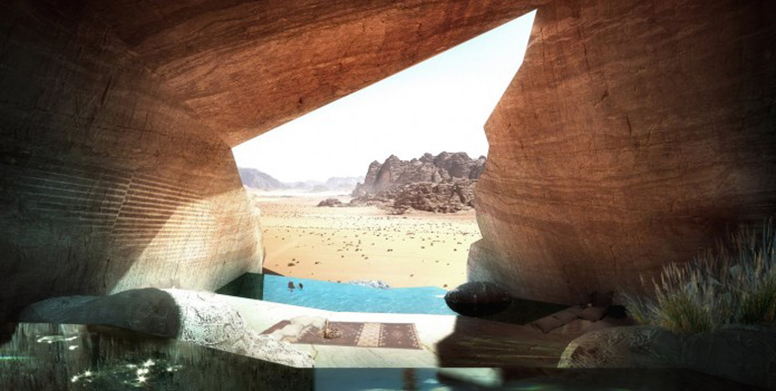 Apartments Spectacular View Of Wadi Rum Desert Lodges By Chad Oppenheim Awesome Wadi Rum Resort Ins (Image 44 of 45)