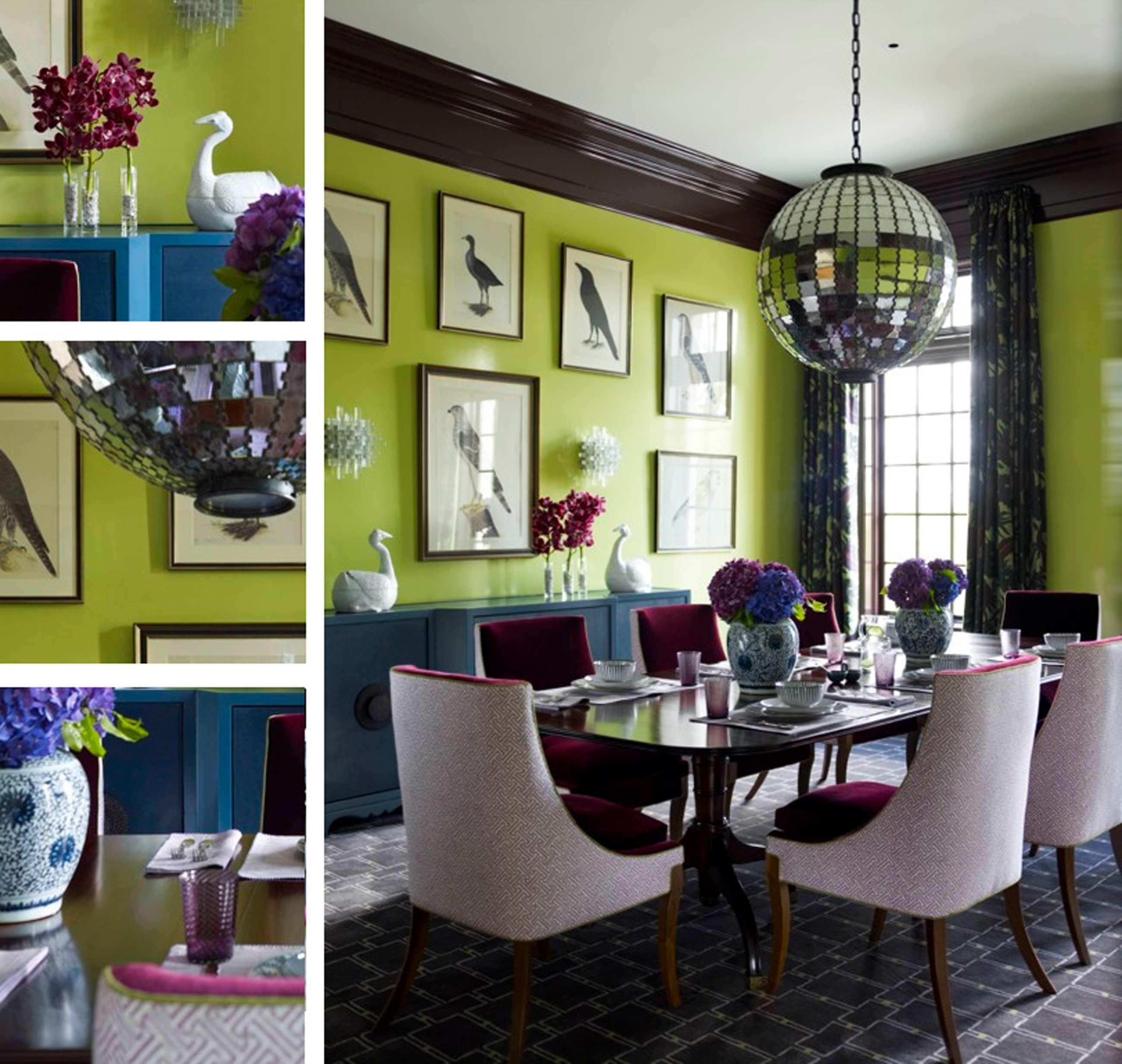 Modern Dining Room Decoration #14121 | Dining Room Ideas