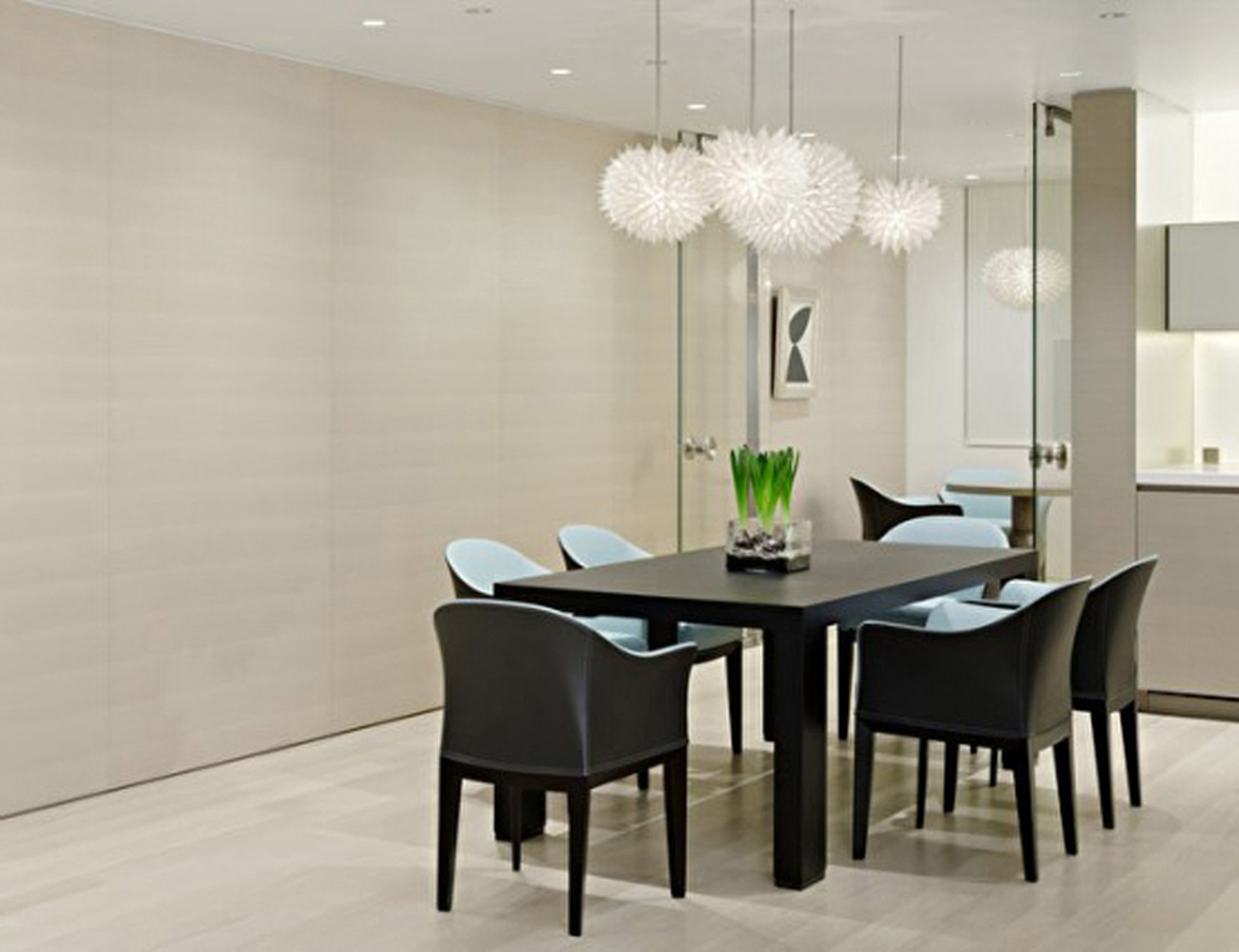 Modern Dining Room Decoration #14121
