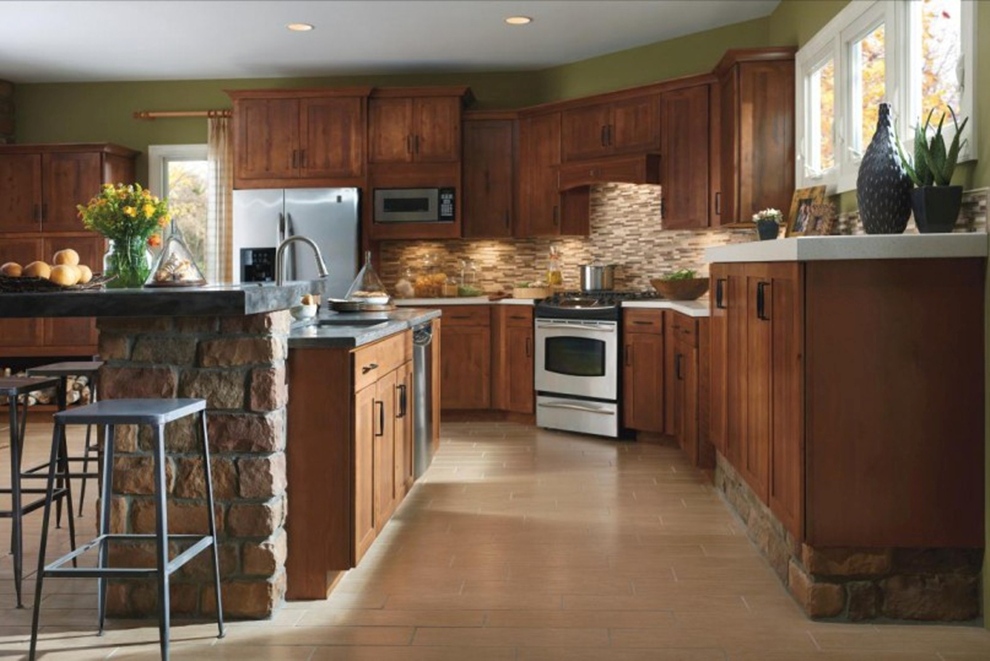 Luxurious Ideas Of Kitchen Cabinet App Along With Islands And L Shaped Also With Bar Foots Incredible Look Of Kitchen Cabinet (Image 14 of 123)