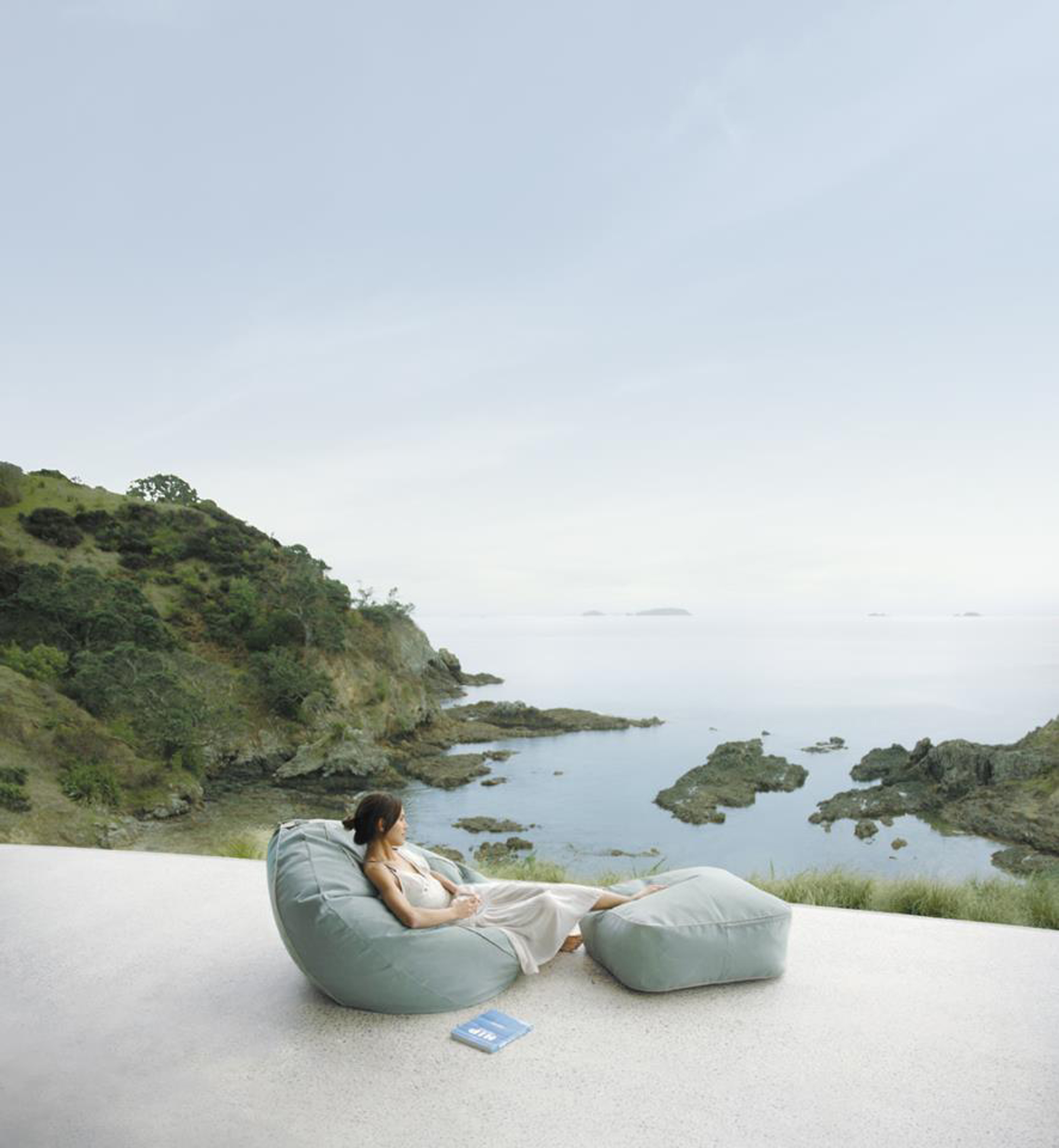 Luxury Contemporary Outdoor Bean Chair Design Idea In Light Blue Great Contemporary Outdoor Ideas (Image 55 of 123)