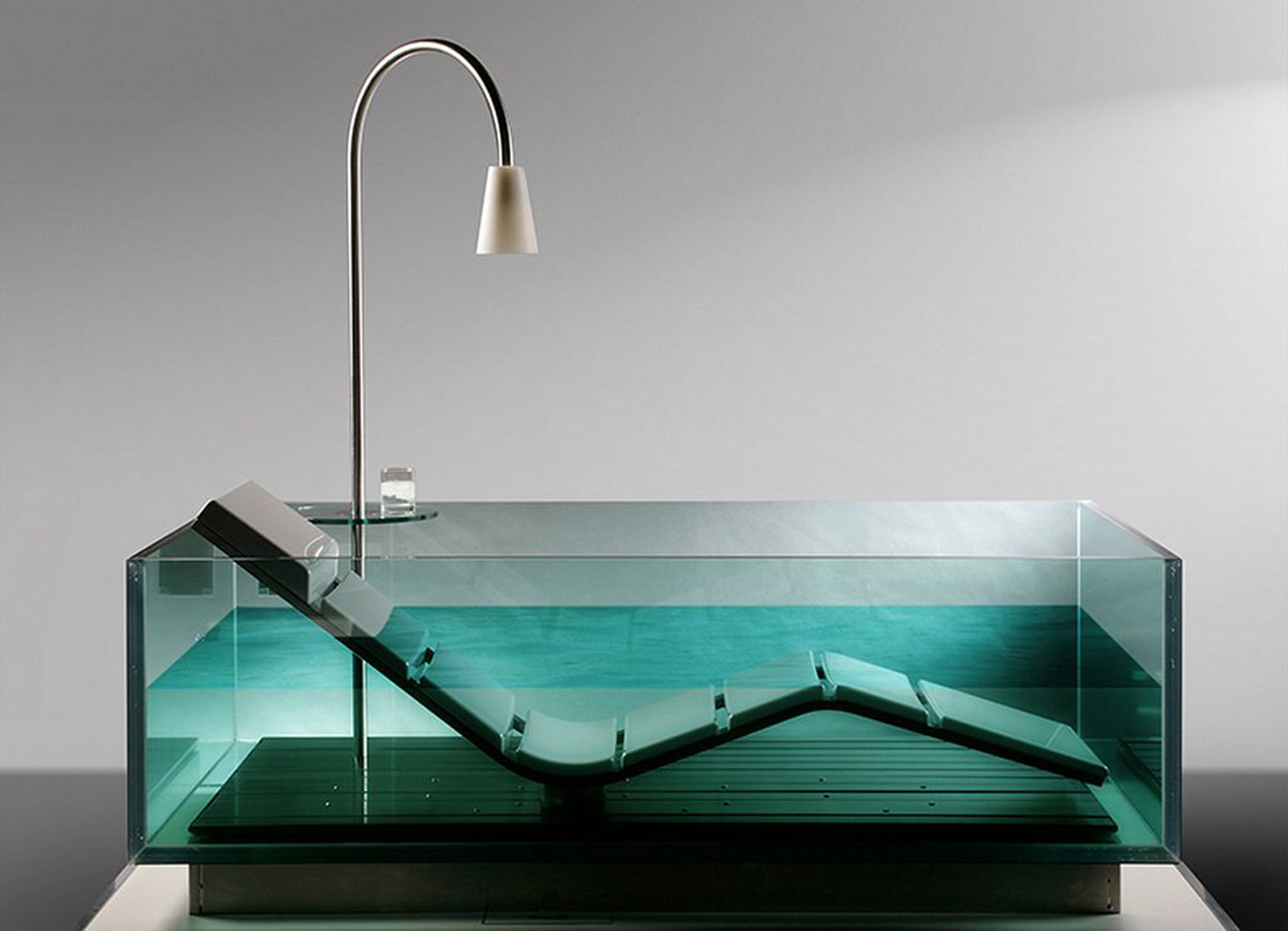 Luxury House Interior Concept For Luxurious Inspiration For Elegance Glass Bathtub With Contemporary Tone (Image 69 of 123)