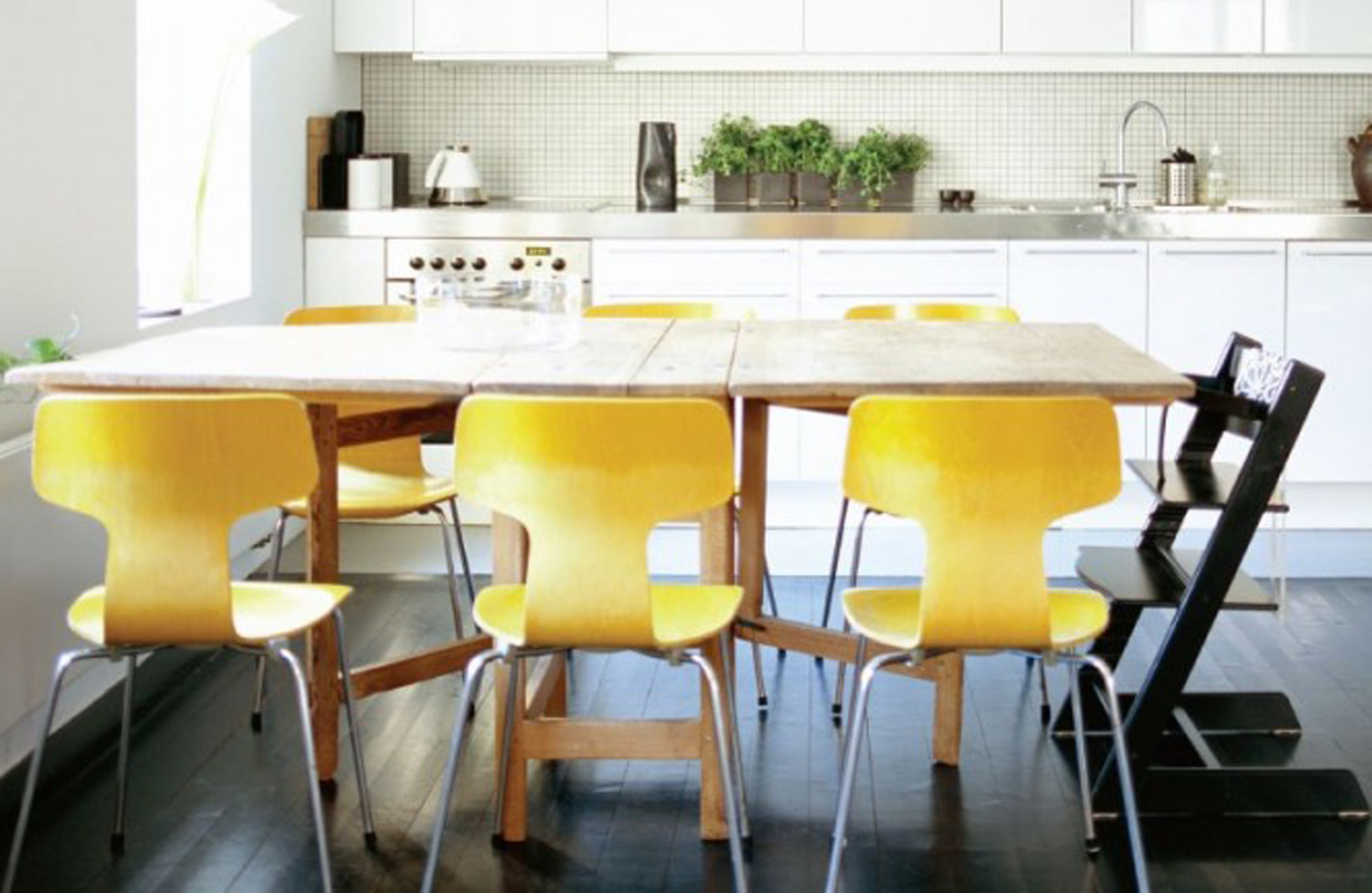 Modern Yellow Dining Chairs (Image 24 of 28)