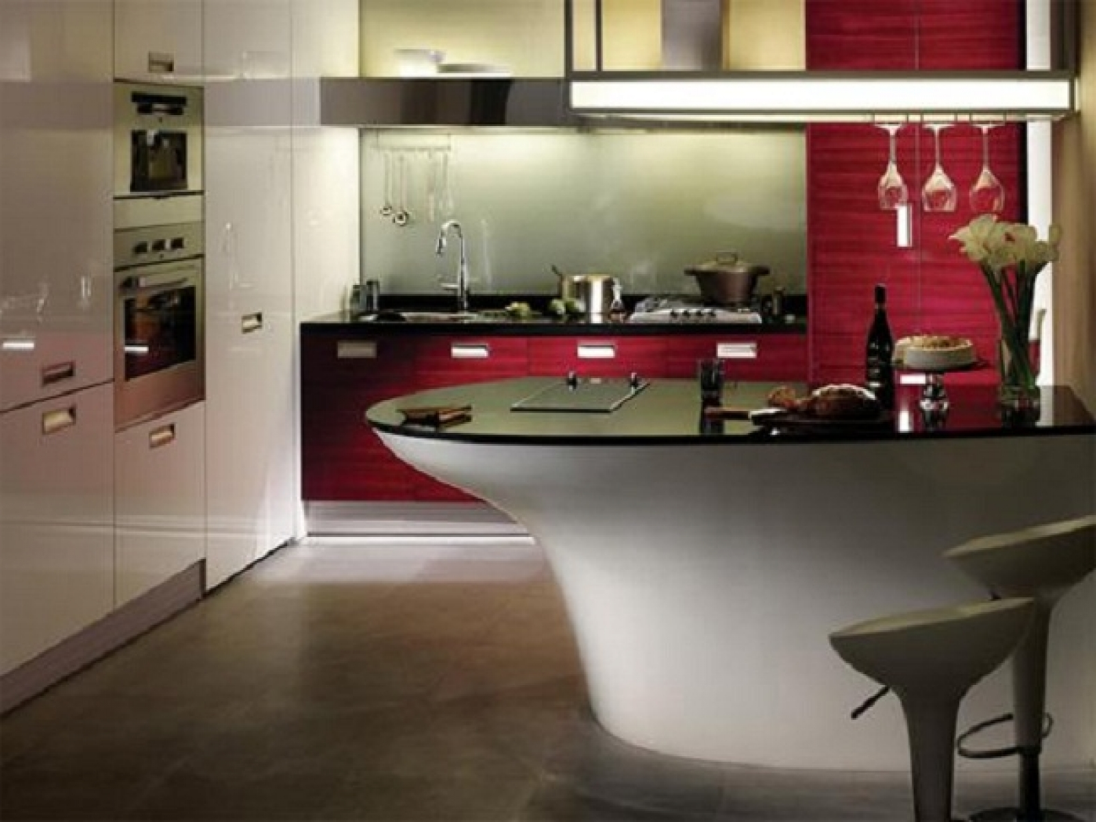 Modern Free Online Kitchen Design Red Paint Style Granite Floor Contemporary Designs Ideas Layout Tool The Philosophy Of Online Kitchen Layout (View 10 of 39)