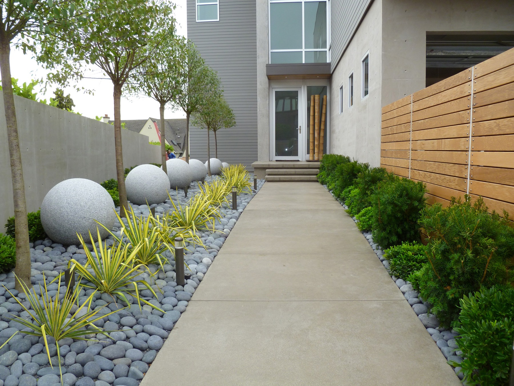 contemporary garden design with elegant look #16274 | garden ideas