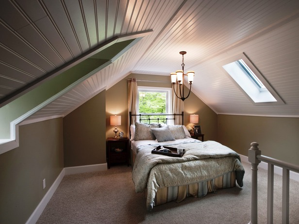Attic Bedroom Victorian Style (View 4 of 23)