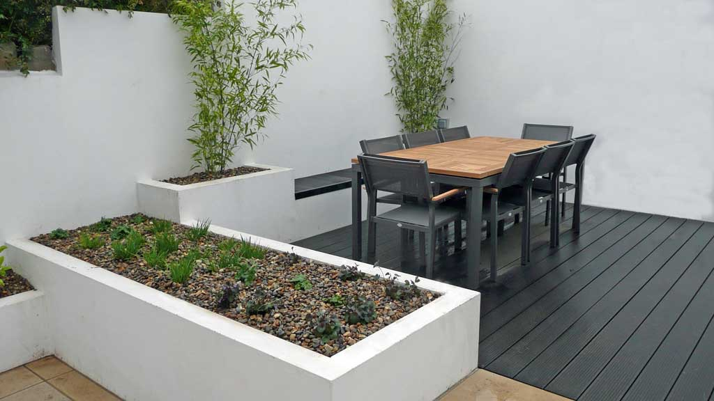 Contemporary Garden Design Elegant Look (Image 18 of 35)