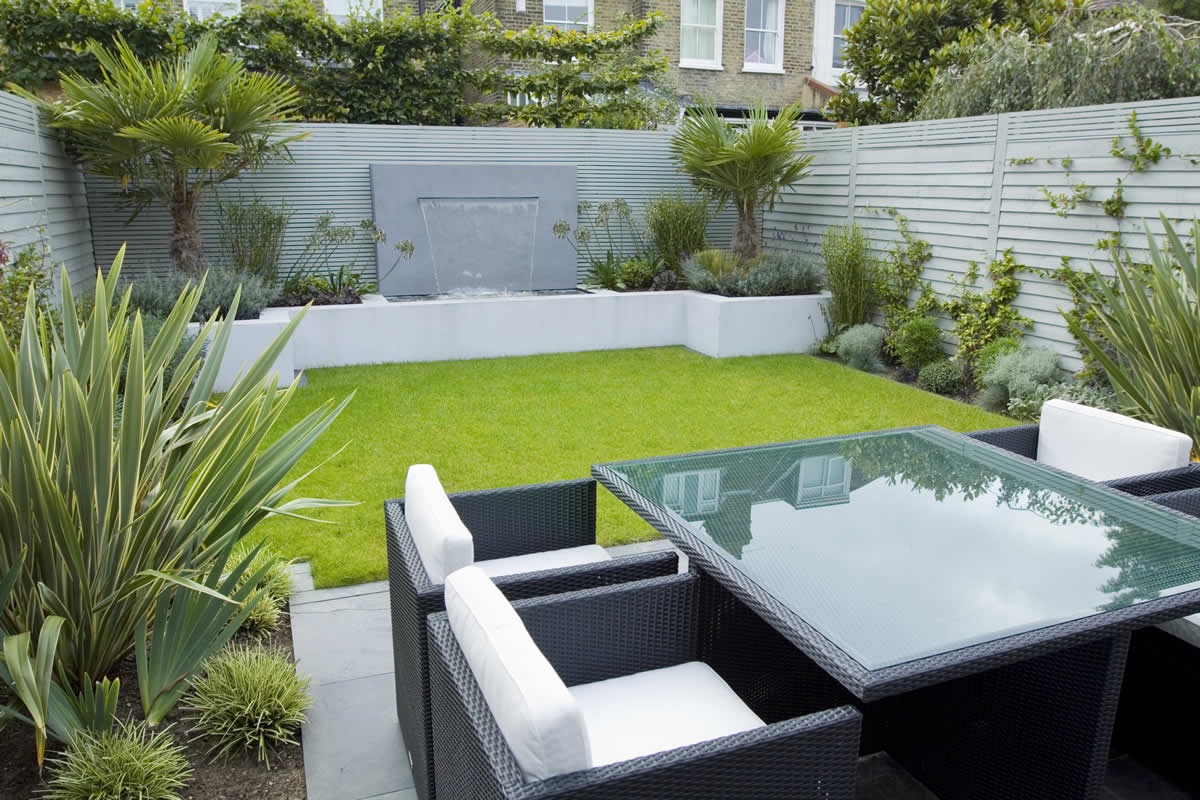 Contemporary Garden Design With Elegant Looks (Image 20 of 35)