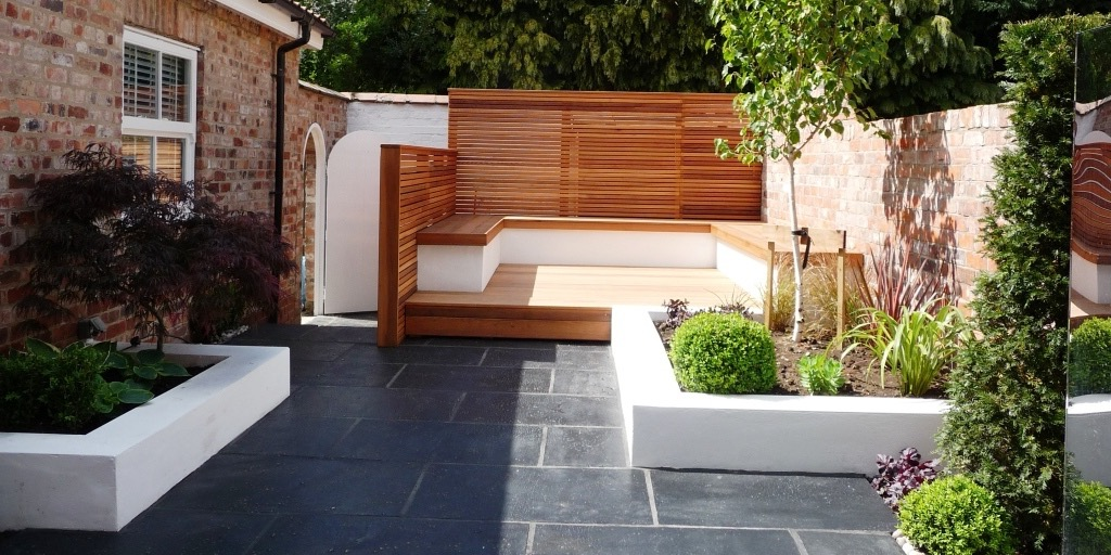 Contemporary Garden Designs With Elegant Look (Image 22 of 35)