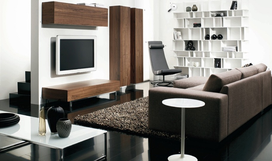 Elegant Living Room Furniture (Image 5 of 24)