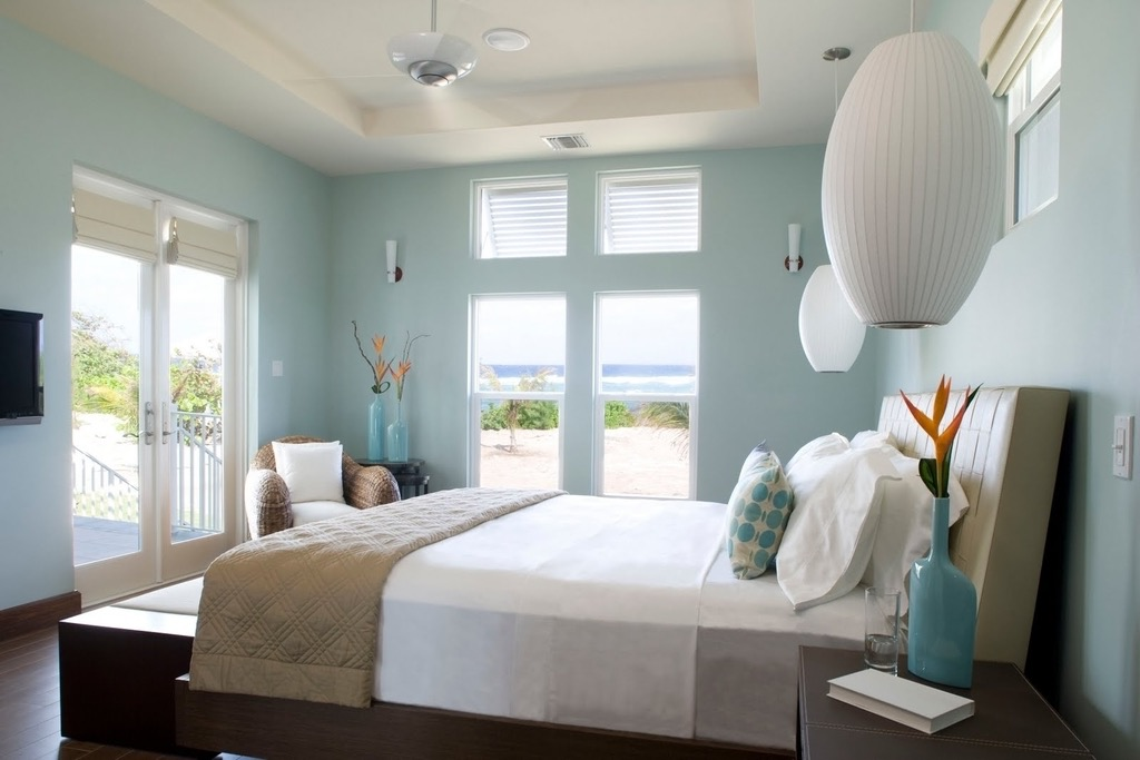 Fresh Blue Bedroom Design  (Image 14 of 25)