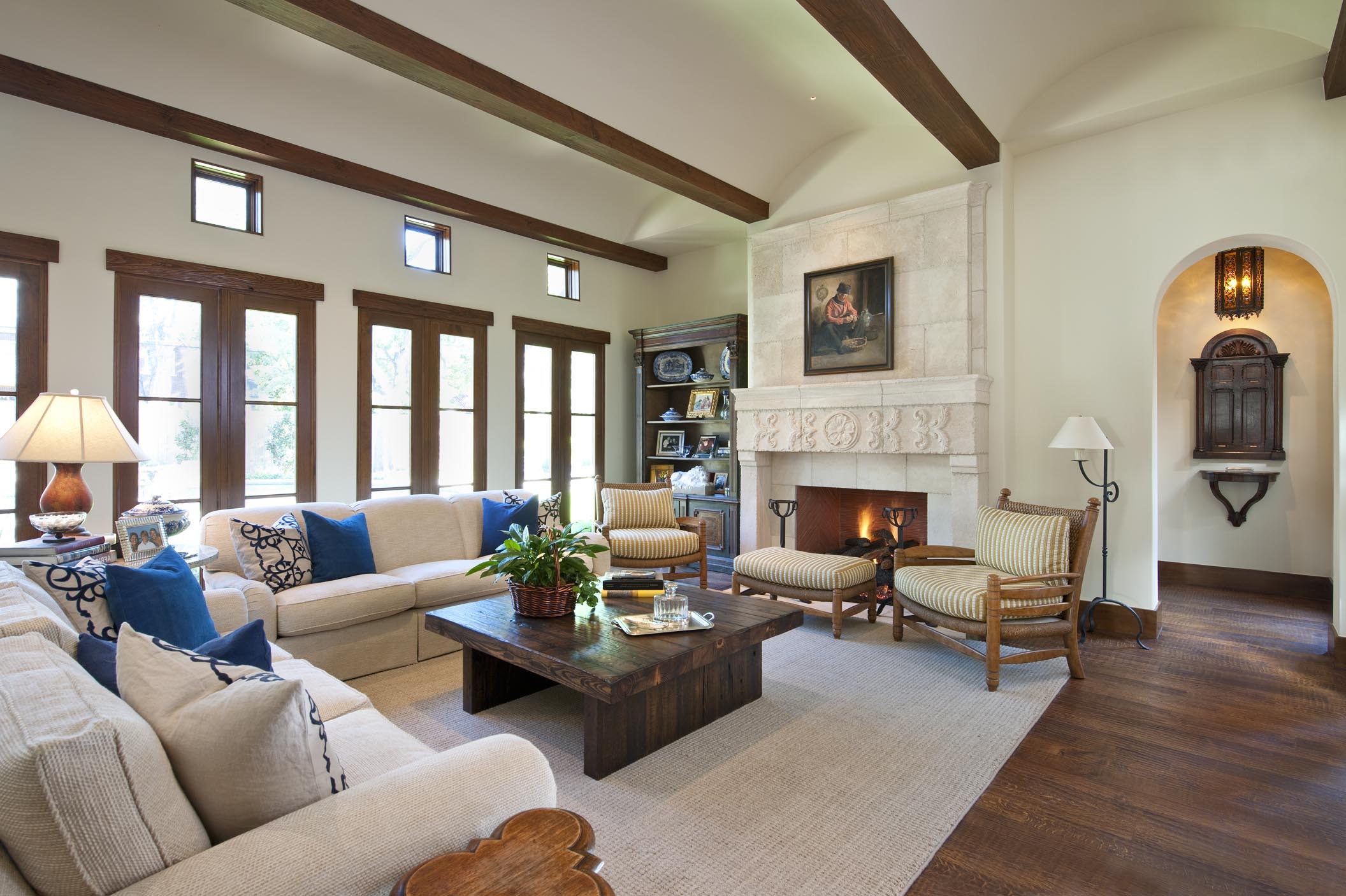 Mediterranean Spanish Living Room With Modern Nuance (Image 14 of 25)