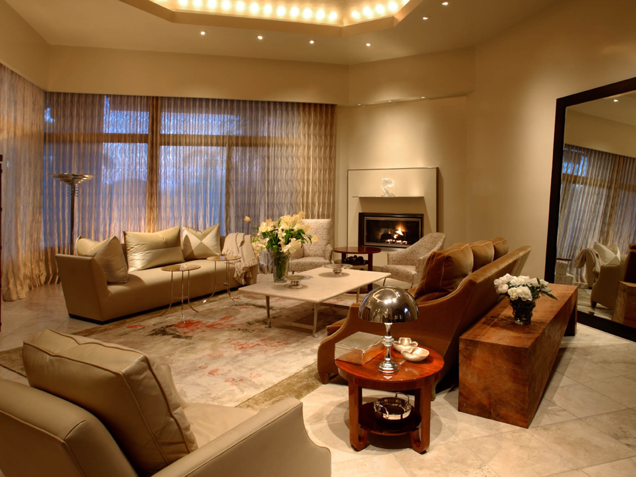 Modern European Living Room Lighting Ideas (Image 24 Of 33) Part 34