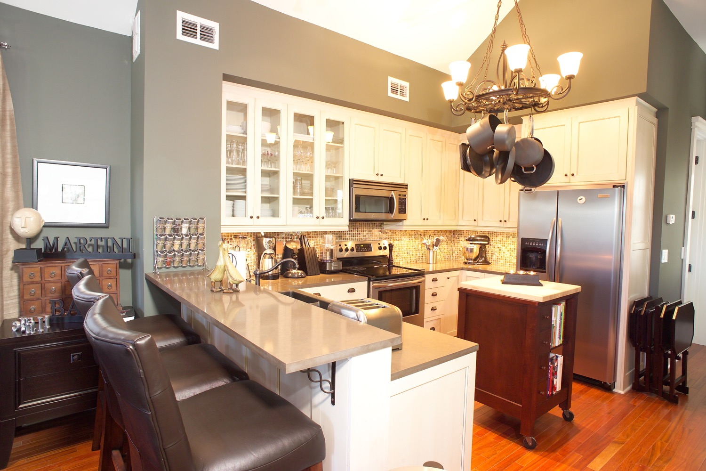 Open Kitchen Bar Design (Photo 12 of 23)