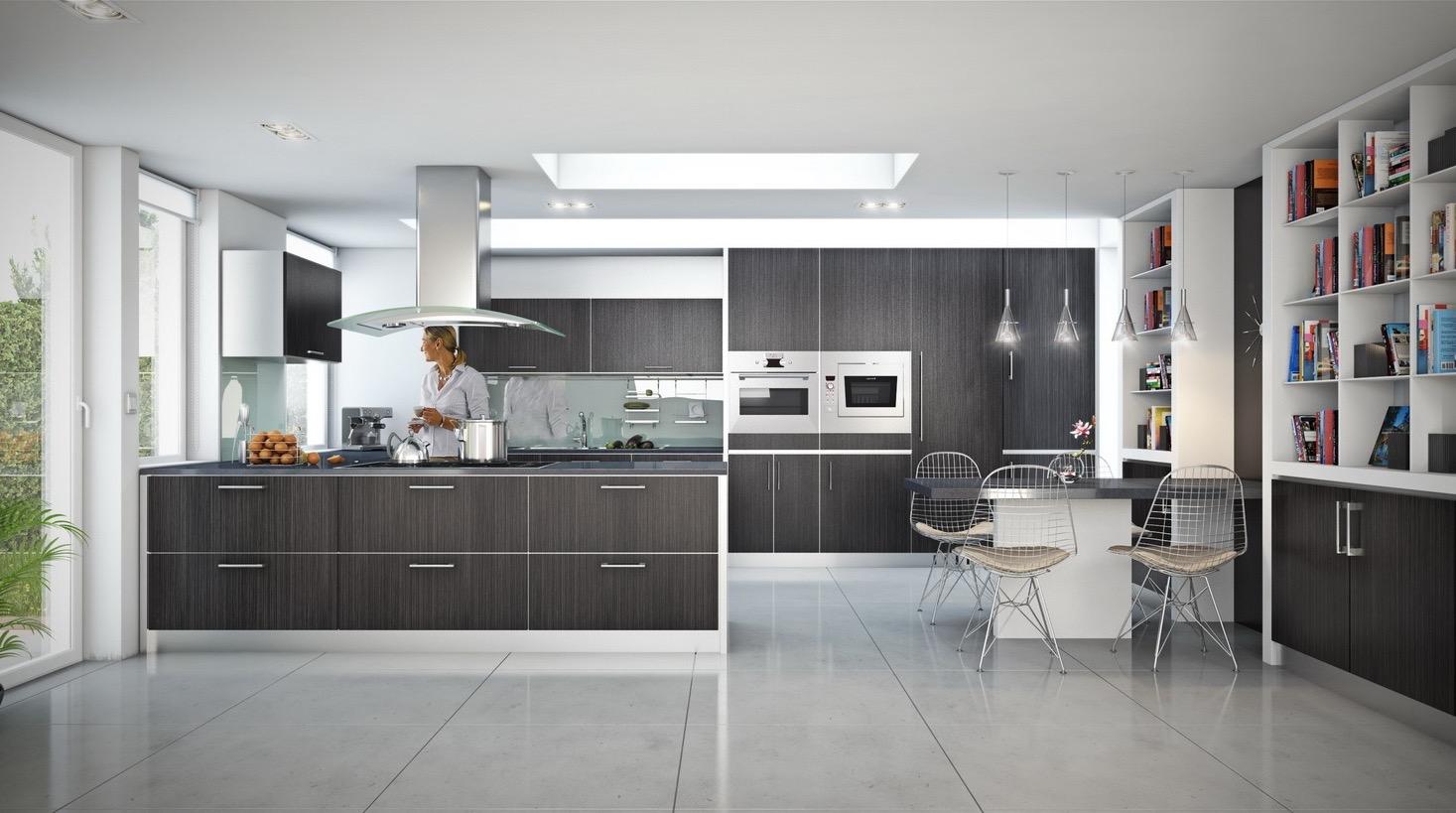 Open Kitchen Design Effective Concept (View 11 of 23)