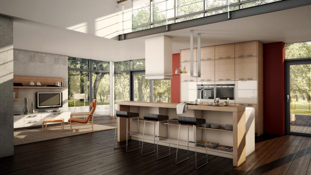 Open Kitchen Design With Effective Concept (View 13 of 23)