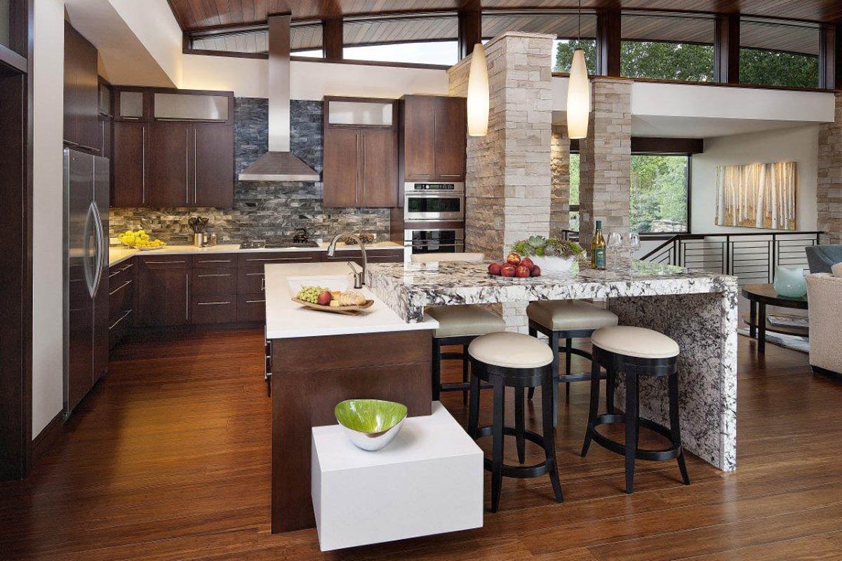 Open Kitchens Design Effective Concepts (View 19 of 23)