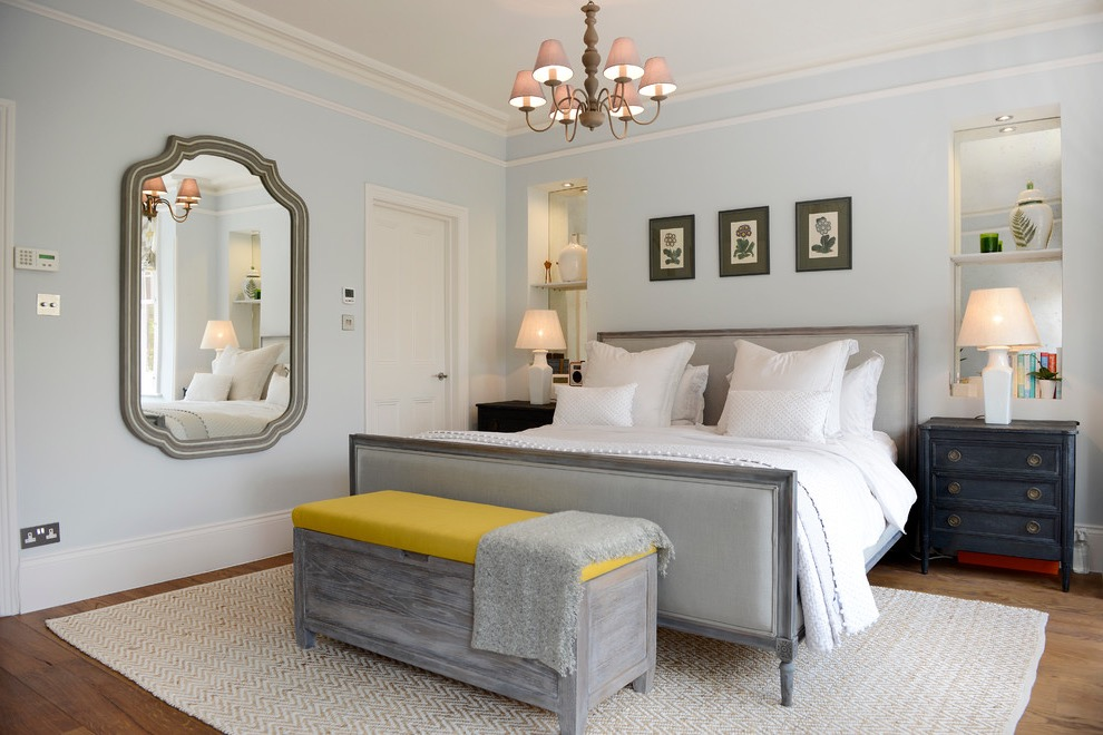 Ornate Victorian Master Bedroom (View 19 of 28)