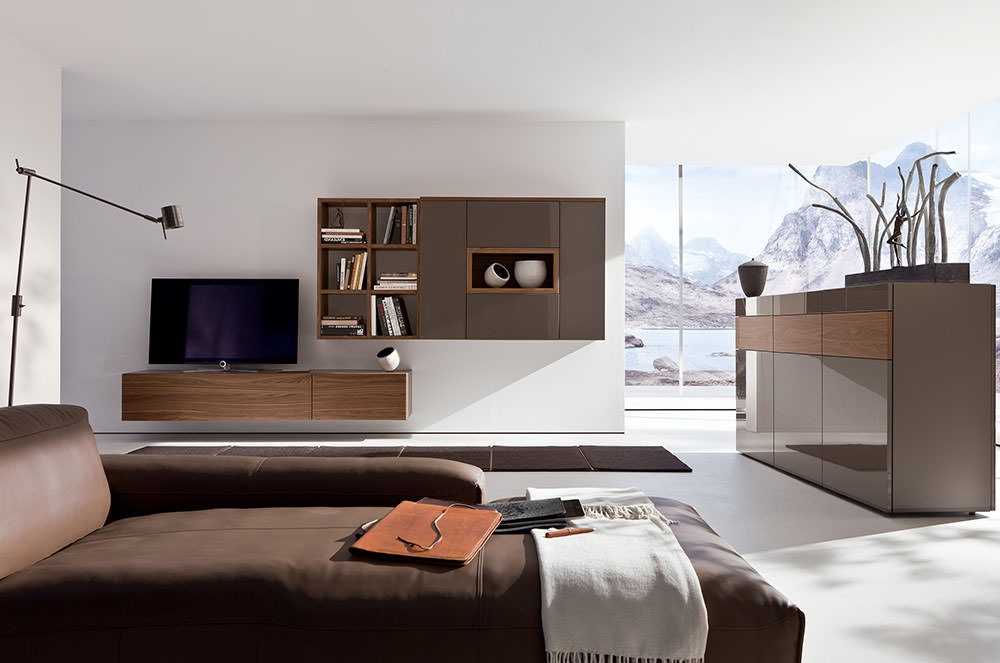 Simple Brown Furniture Living Room (Image 16 of 24)