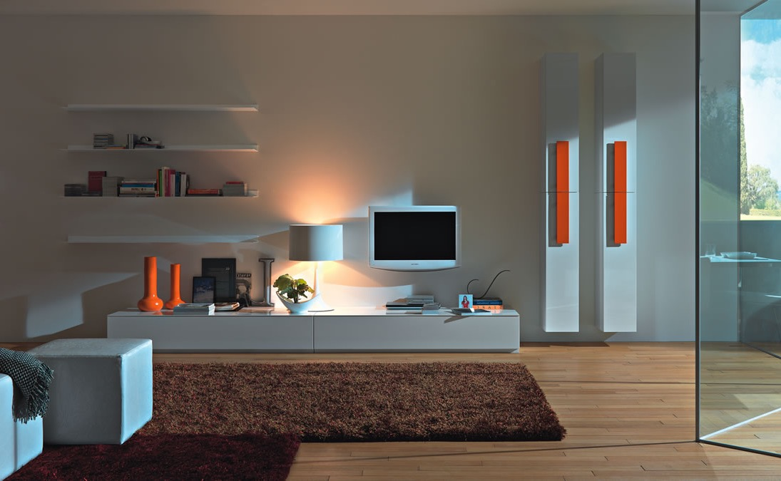 Simple Design For Living Room Interior (Image 16 of 23)