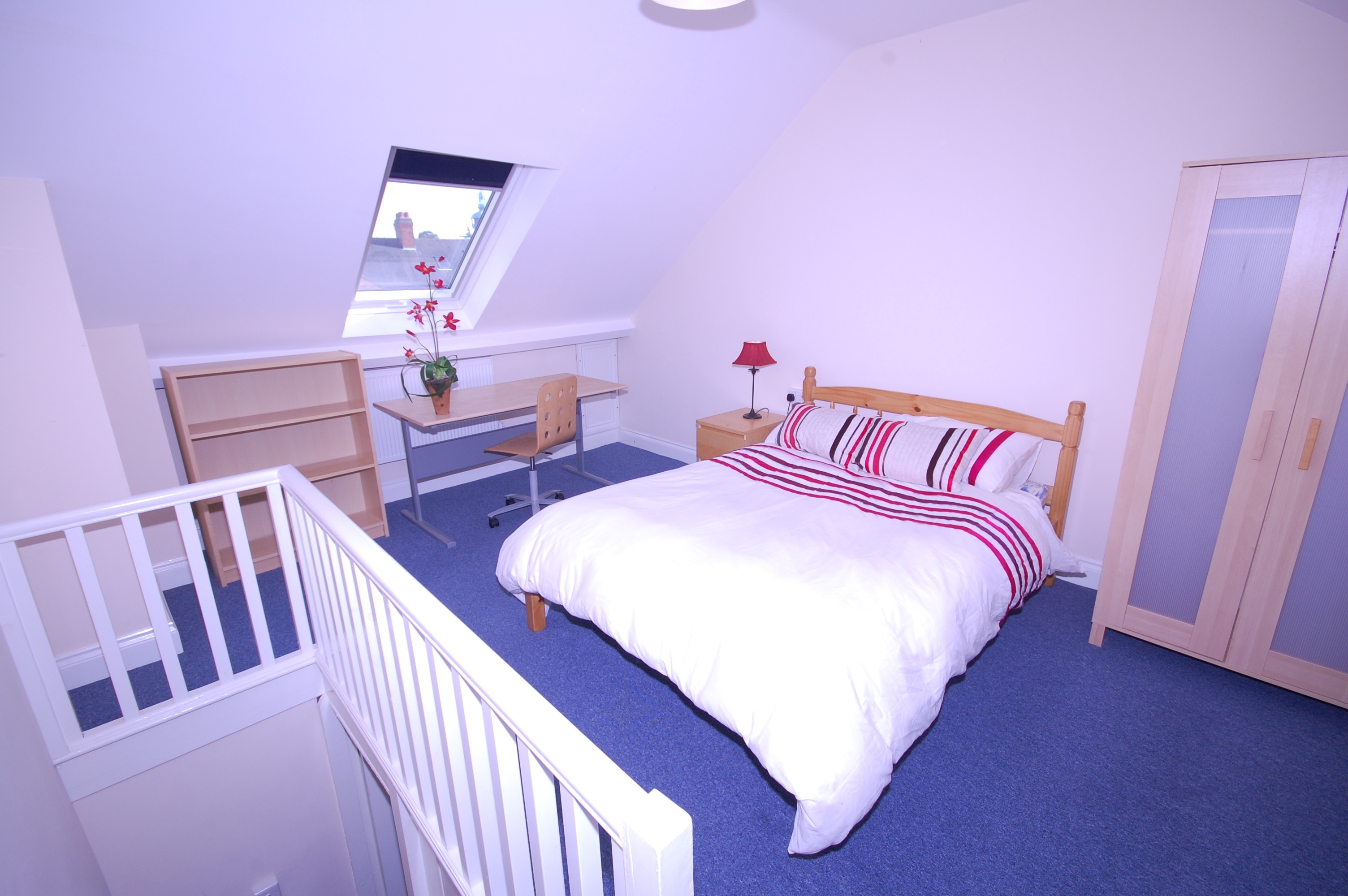 Stylish Design Attic Bedroom Interior (View 21 of 23)