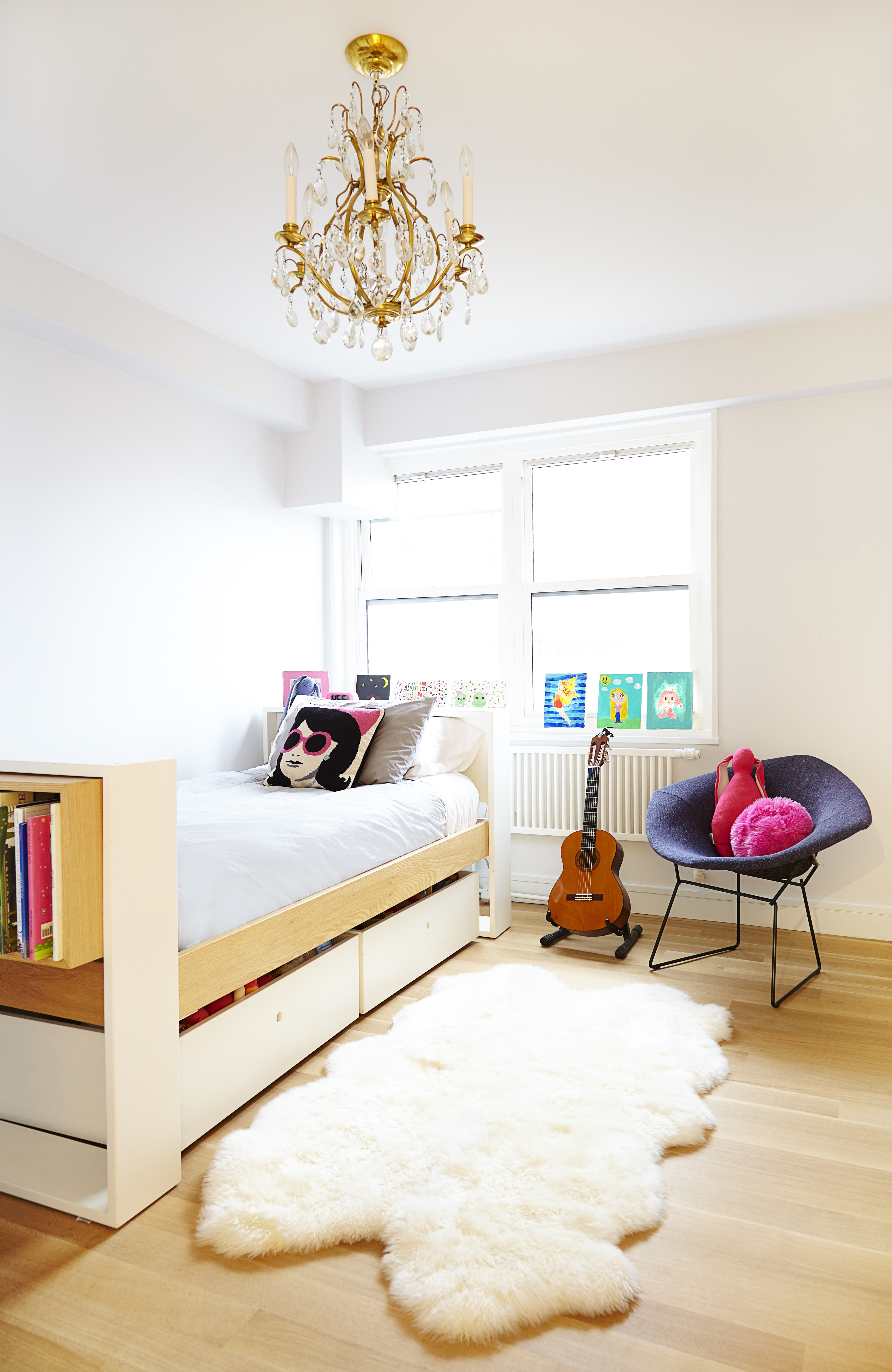 Trendy Modern Teenage Girls Bedroom In Minimalist Style (Image 28 of 30)