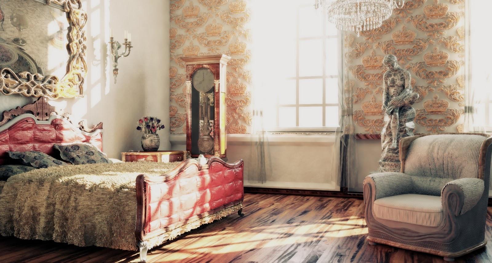 Victorian Decor Ideas Comfortable Bedroom (View 16 of 19)