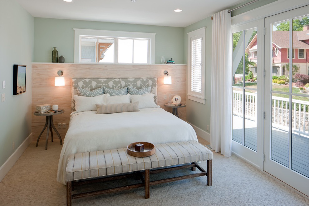Beach Style Bedroom With Spa Like Design (View 1 of 25)