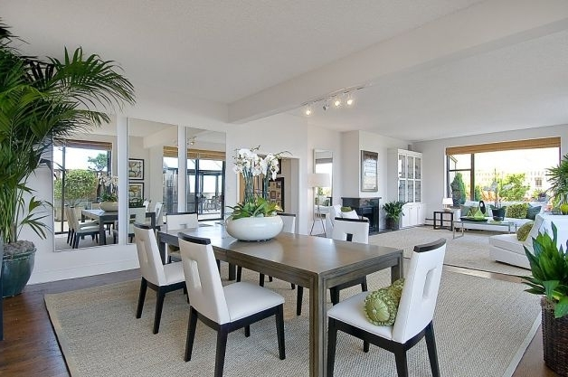 Beautiful Elegant Living Room And Dining Room Combination (Image 2 of 34)