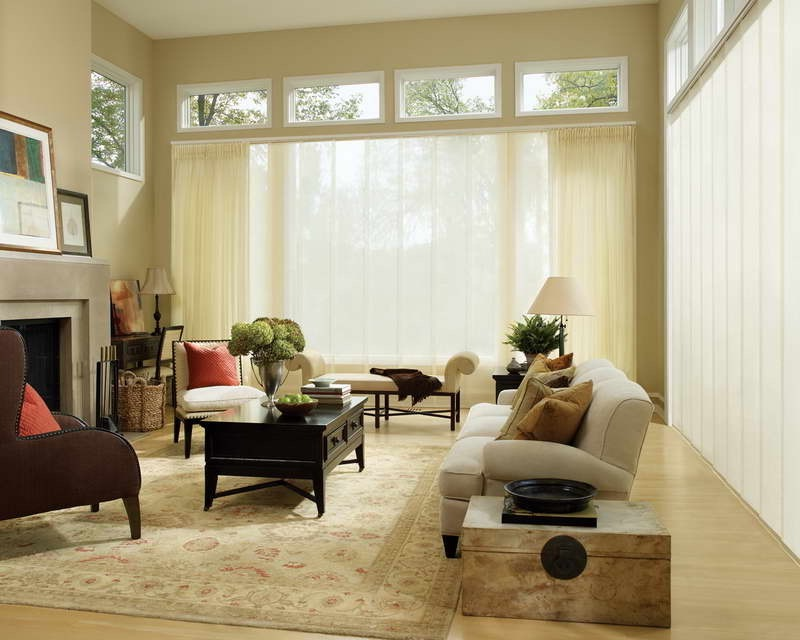 Contemporary Curtain Desain For Living Room (Image 6 of 25)
