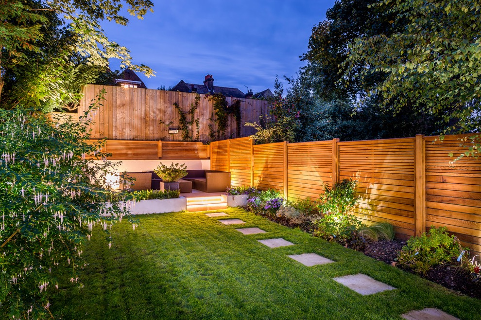 Contemporary Garden Landscape Lighting (Image 10 of 35)