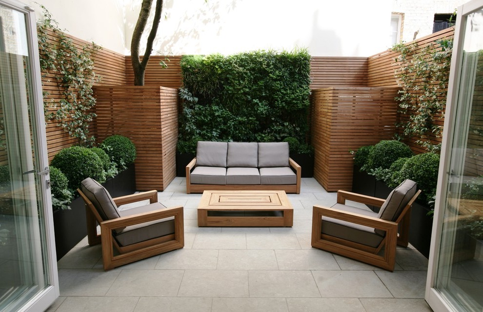Contemporary Minimalist Garden And Patio Furniture (Image 2 of 28)