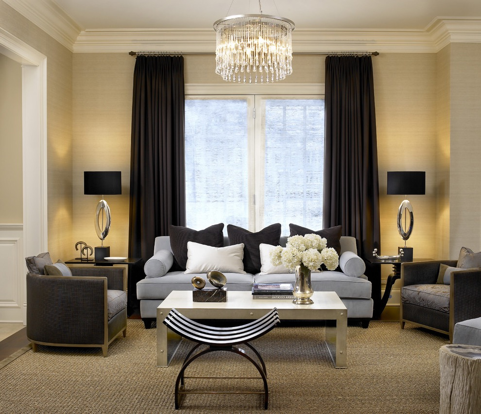 Contemporary Round Crystal Chandelier For Luxury Nuance (Image 5 of 18)