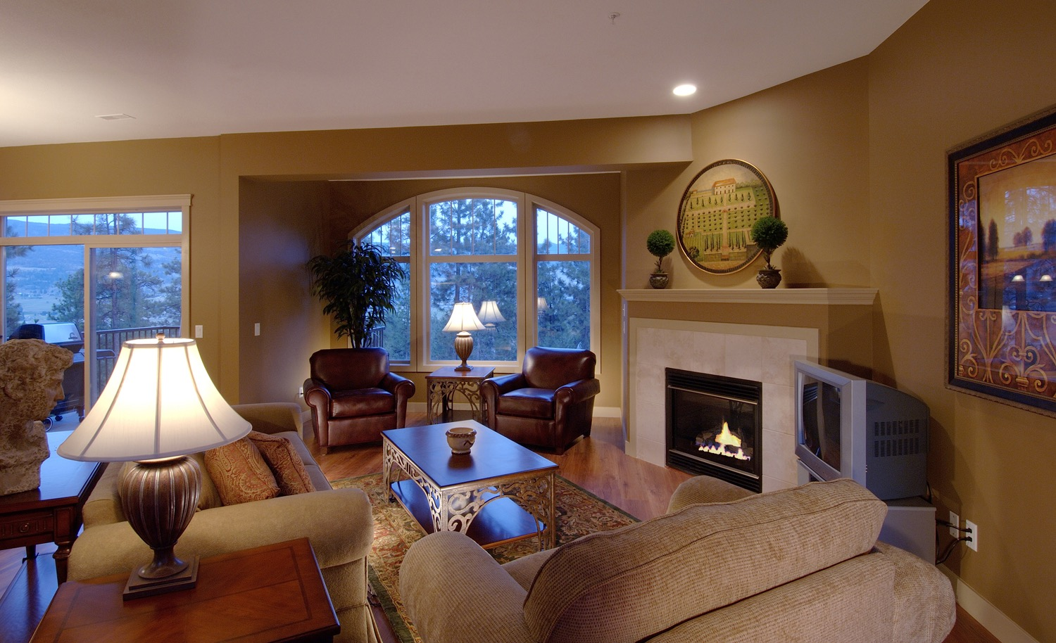 Creative Living Room Design (Image 7 of 36)