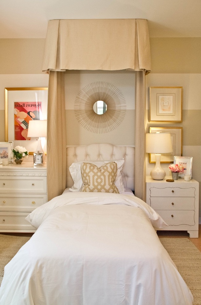 Elegant And Comfy Teen Girls Bedroom Decoration  (Image 14 of 30)