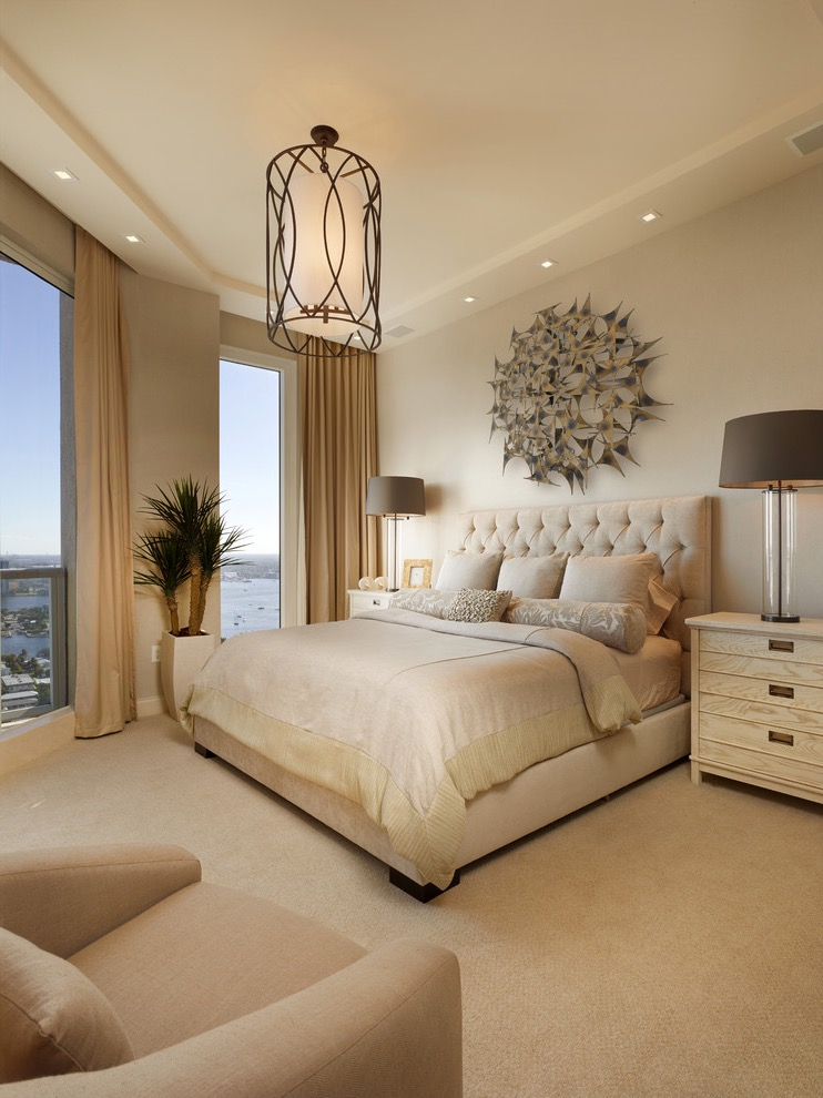 Elegant Modern Family Bedroom For Parents (Image 16 Of 30)