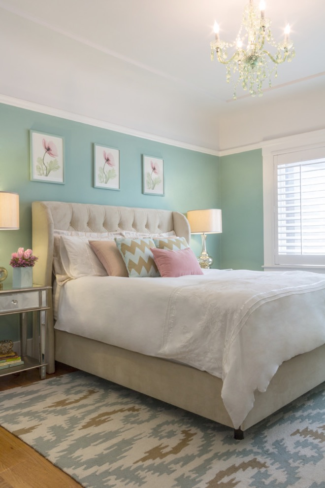 Green Bedroom Color Paint For Elegance Nuance (Image 7 of 22)