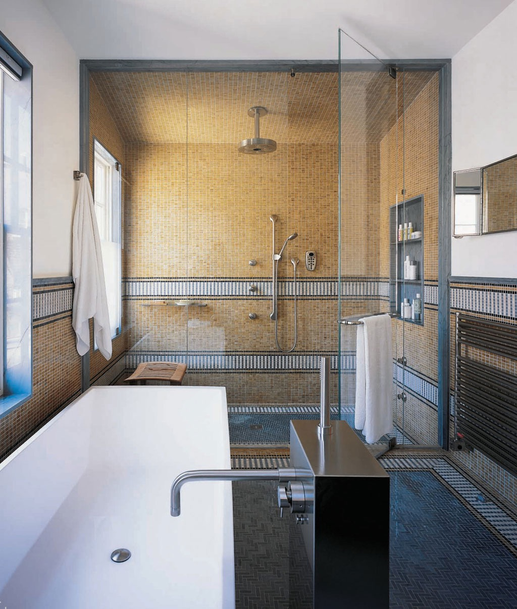 Modern Contemporary Tropical Shower Interior Design (Image 12 of 22)