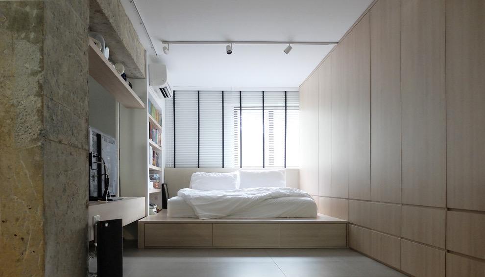 Modern Scandinavian Bedroom Apartment Interior (View 20 of 28)