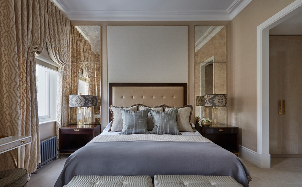 Modern Victorian Bedroom Hotel Inspired (Image 13 of 28)